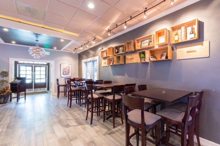 Venue 3 Foyer Tables Front Door