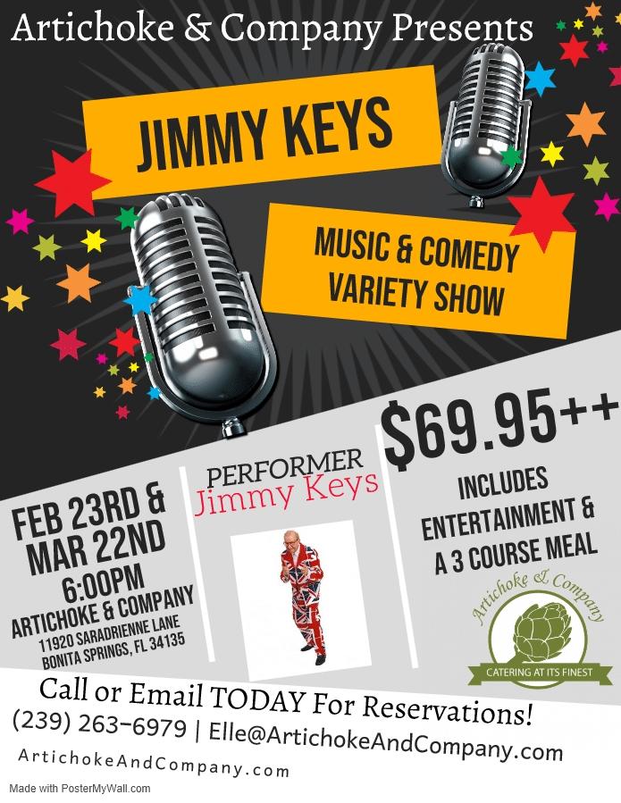 Jimmy Keys Flyer