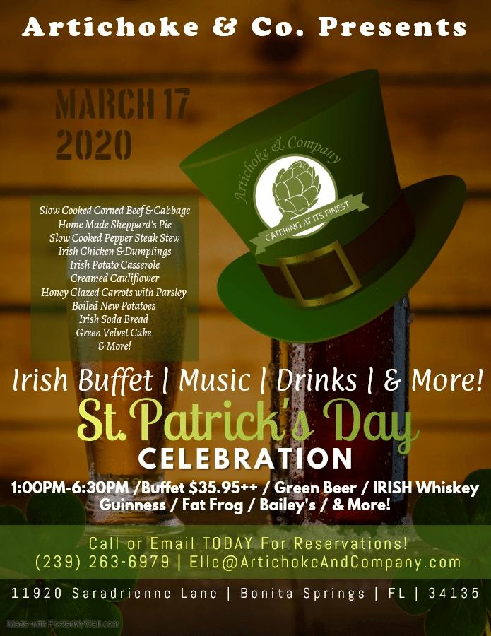 St. Patrick's Day Flyer 2020 FINAL