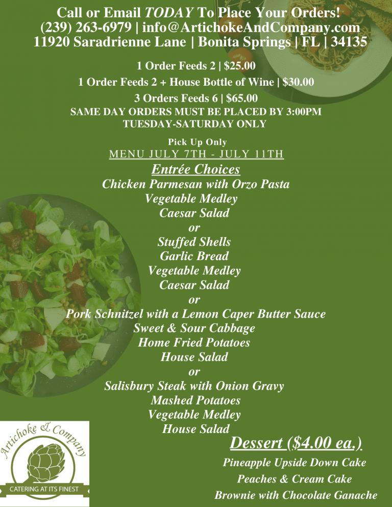 Dark Green Pasta Lunch Menu-29